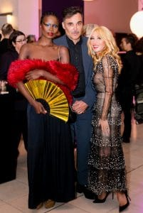 Photographer David LaChapelle and Elizabeth Segerstrom at The Hammer Museum Gala