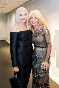 Gloria Brandes and Elizabeth Segerstrom at The Hammer Museum Gala