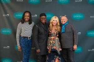 Elizabeth Segerstrom and Earth Wind and Fire