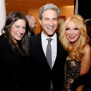 Katherine Ross with Michael Govan, Elizabeth Segerstrom
