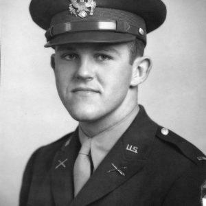 Henry Segerstrom in Army uniform
