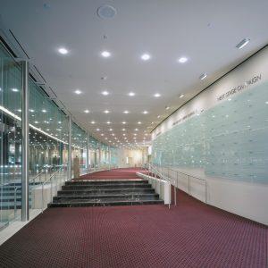 South Coast Repertory lobby