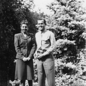 Both Henry Segerstrom and his sister Ruth Ann volunteered to serve their country during WWII.