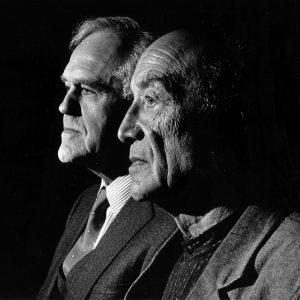 Henry Segerstrom and Isamu Noguchi