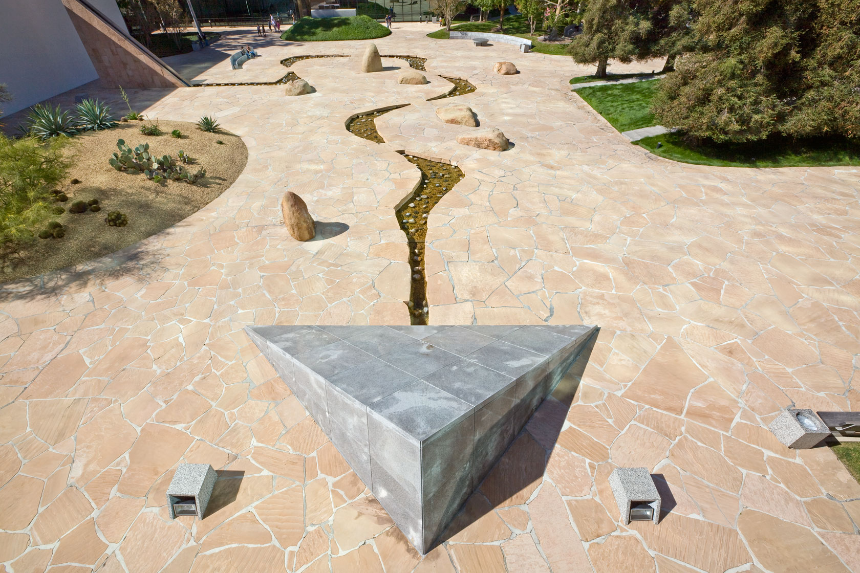 California Scenario - Henry T. Segerstrom for Noguchi Landscape  55nar