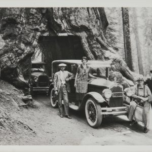 A family trip to Yosemite in 1925.
