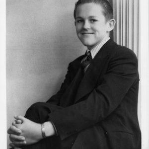 Henry Segerstrom Senior Yearbook Photo