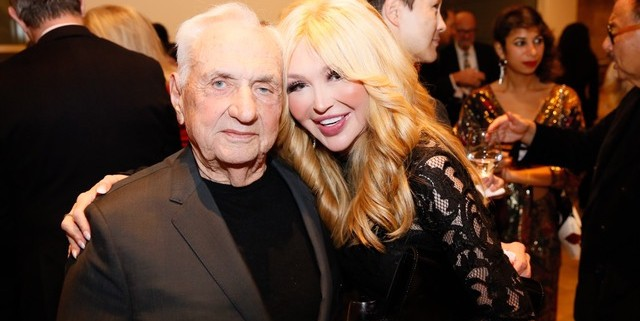 Elizabeth Segerstrom and Frank Gehry
